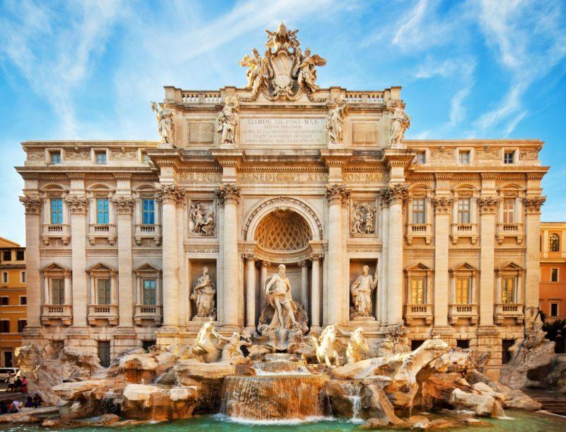 roma o que ver Fontana di Trevi