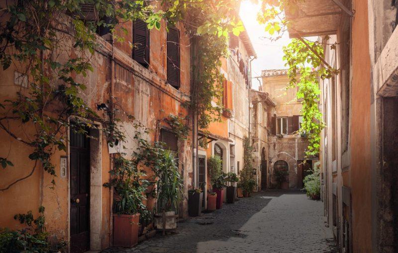 O que fazer em Roma: perca-se pelo caminho para achar ruas assim