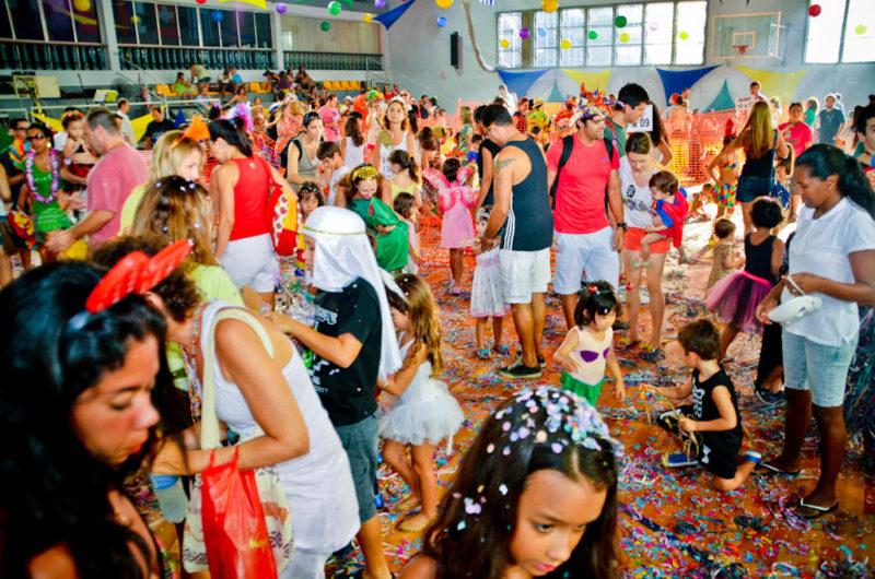 Baile de carnaval para crianças
