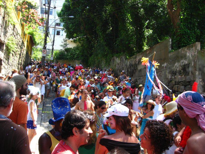 Carnaval com filhos