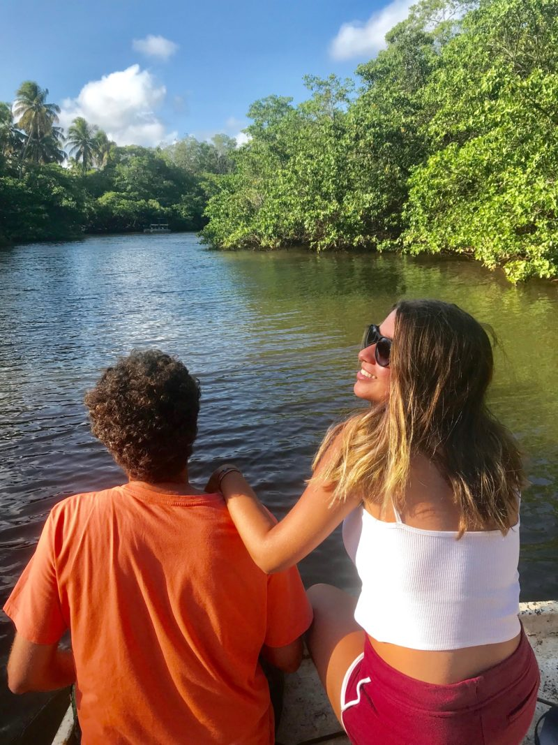 O que fazer em Alagoas: visual do passeio do peixe-boi