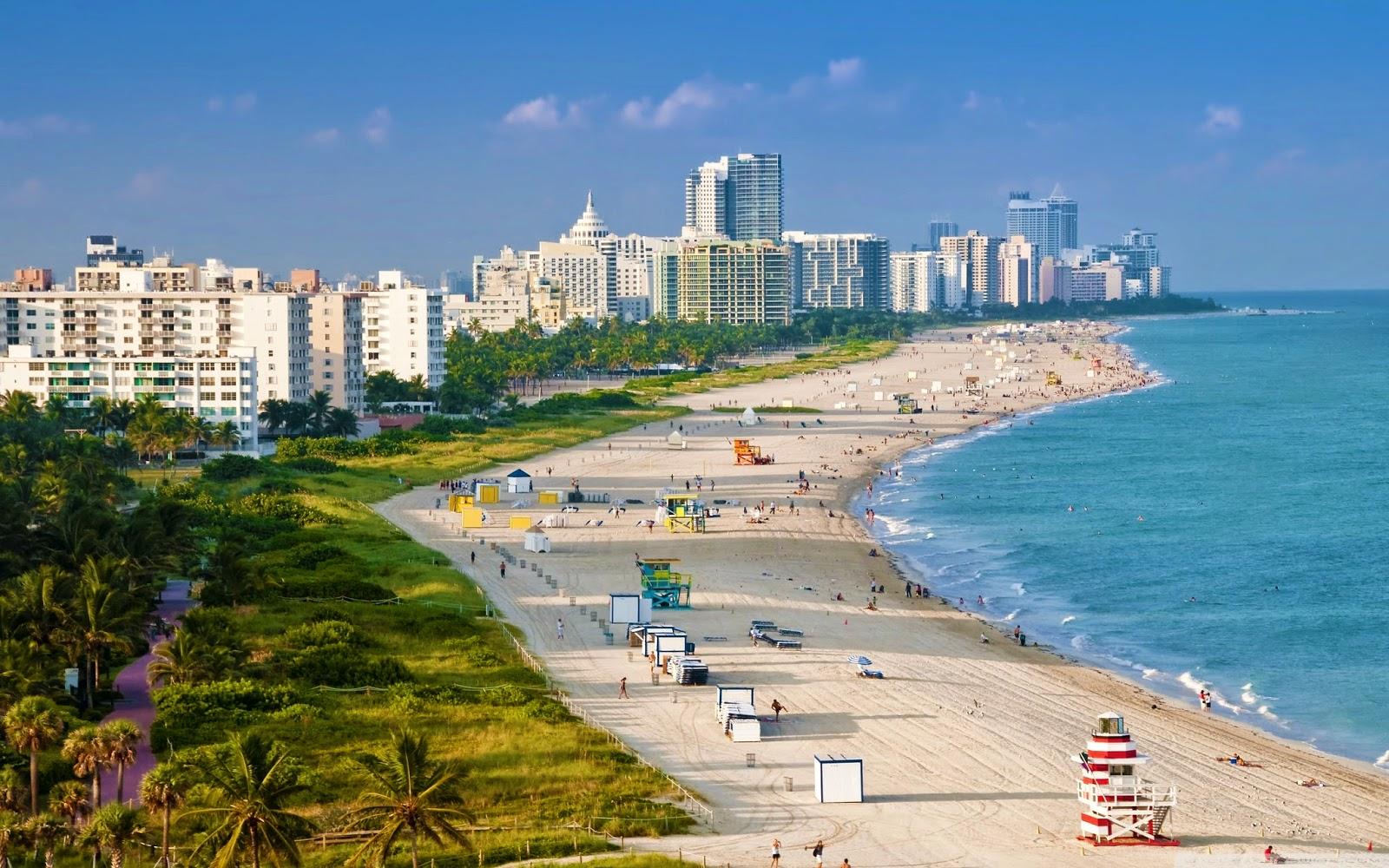 Os 10 melhores hotéis em Miami