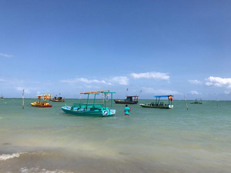 A praia de São Miguel dos Milagres, na Rota Ecológica de Alagoas