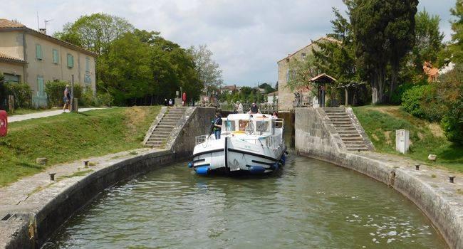 alugar barco canal du midi