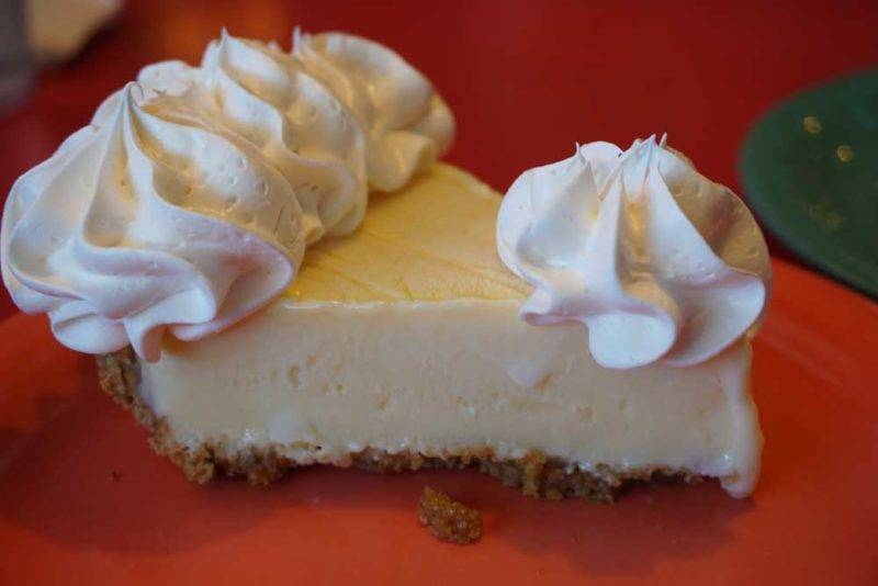 A Key Lime Pie do Mrs Mac Kitchen