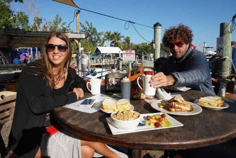 Café da manhã com clima solar! Tudo de bom
