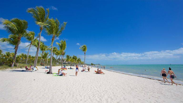 Praia de key West: a Smathers beach