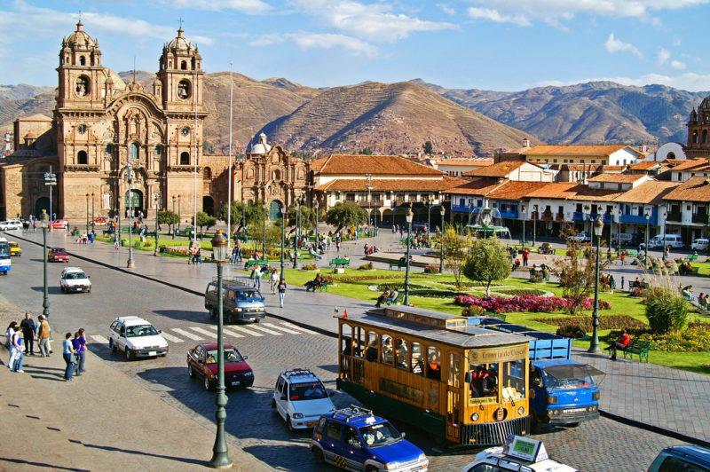A cidade de Cusco: lindíssima