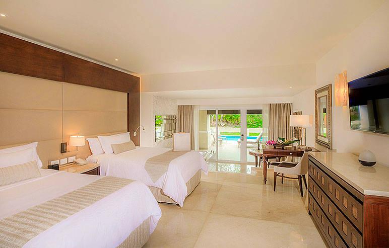 melhores hotéis em Cancun e Riviera Maia: nosso quarto com piscina e hidromassagem