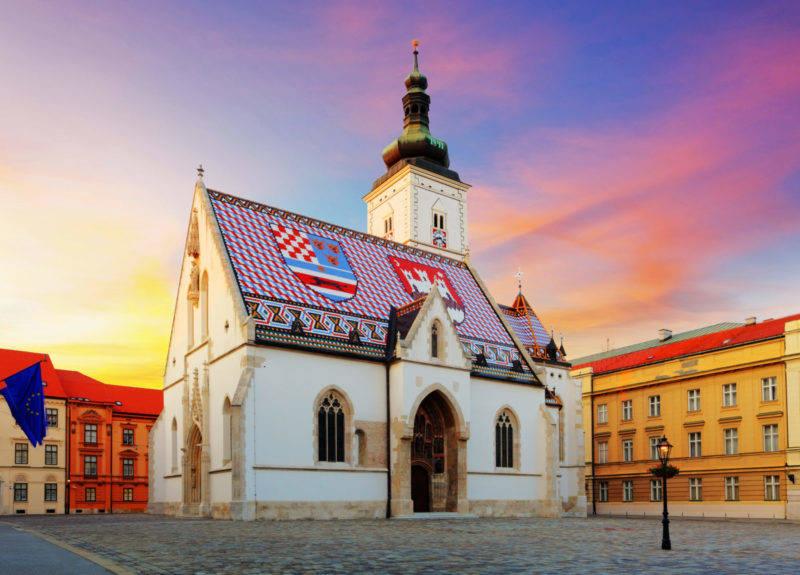 5 destinos baratos na Europa: Zagreb é barata e com muitos atrativos, como a Igreja de St. Mark