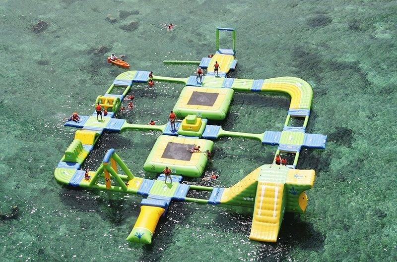o que fazer em cozumel: a estrutura do Playa Mia
