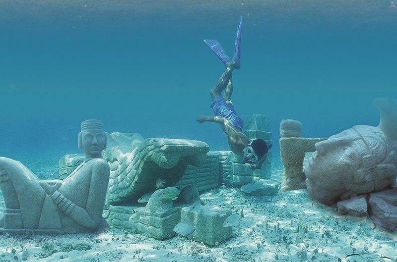 O passeio de barco em Cozumel inclui paradas para snorkel nos bancos de corais