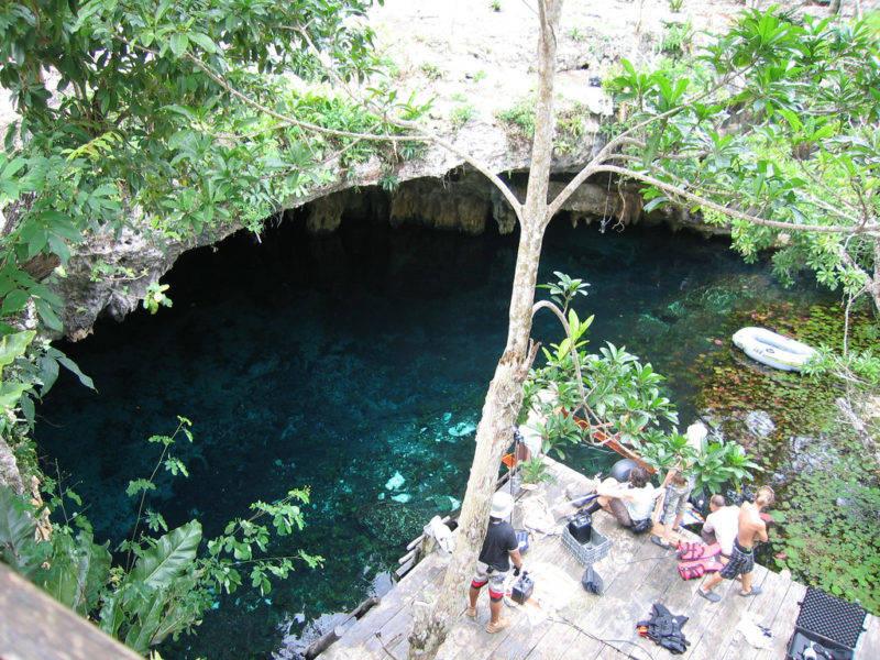 O Gran Cenote, em Tulum