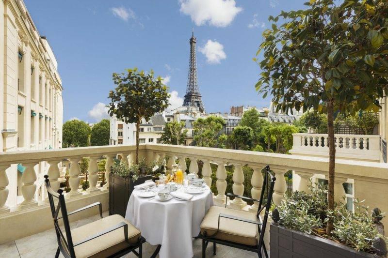 Shangri-la Paris: cinco estrelas com vista para a Torre Eiffel