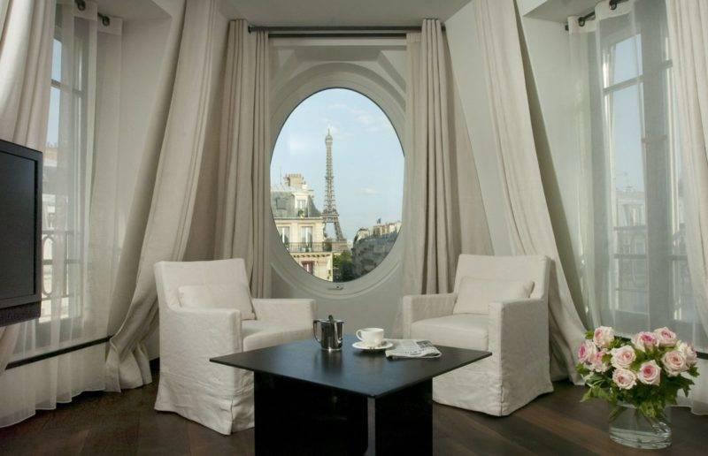 Hoteis com vista para a Torre Eiffel