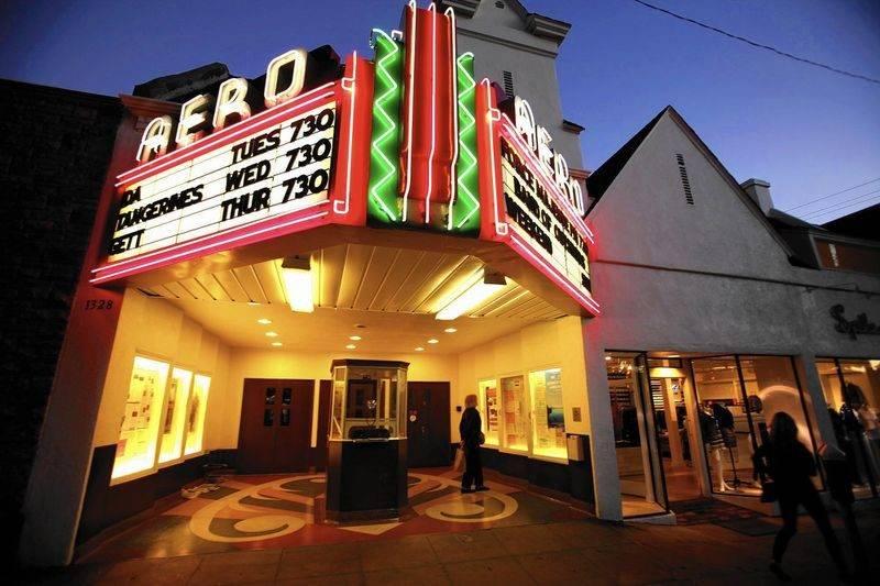 O que fazer em Santra Monica: o Aero Theatre é um point alternativo