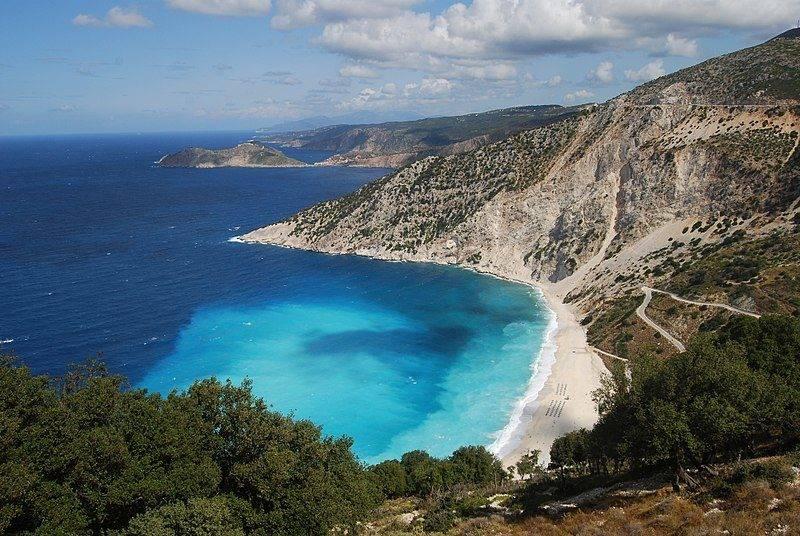 Roteiro Zakynthos e Kefalonia: Myrtos Beach
