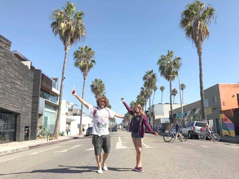 O que fazer em Venice: Rua Abbot Kinney é imperdivel