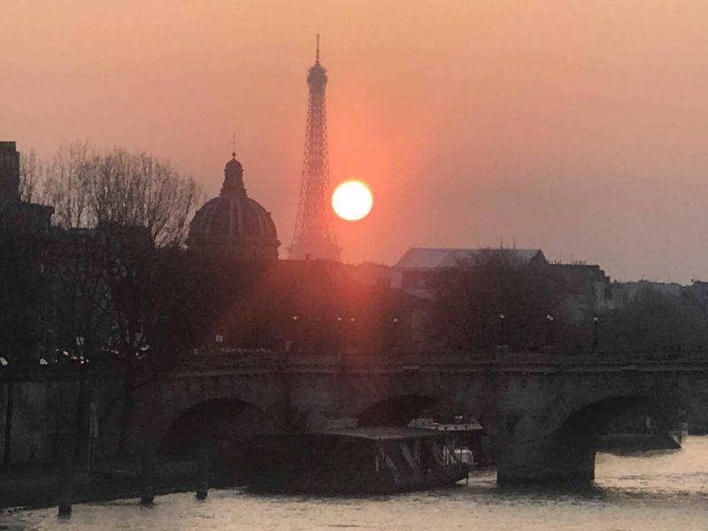 Onde ver o por do sol em Paris