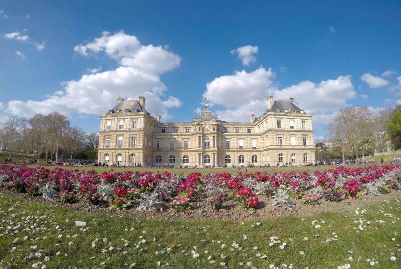 Os Jardins de Louxembourg