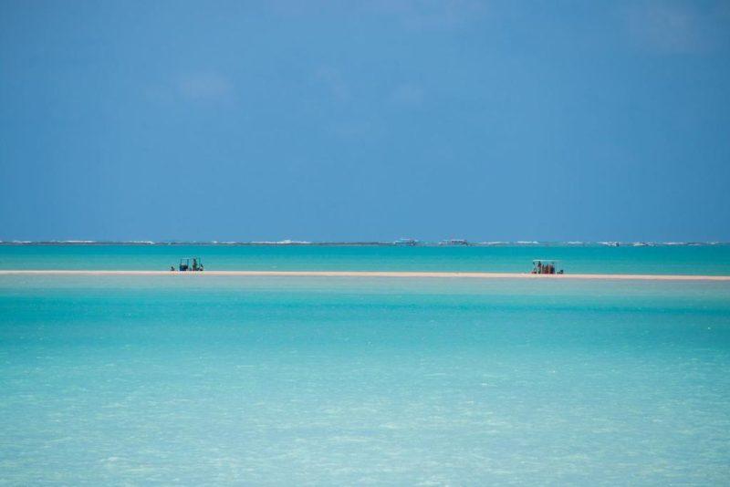 A praia de ponta do mangue, em Maragogi