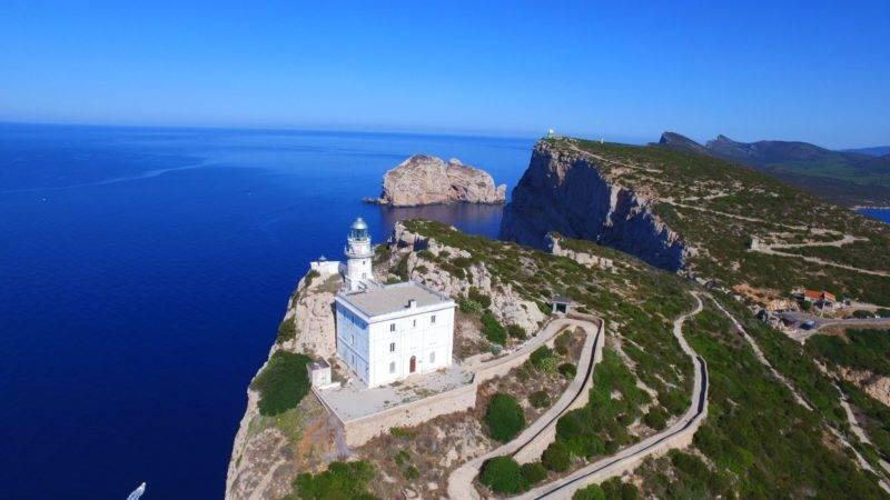 Sardenha dicas: Foral do Capo Caccia.