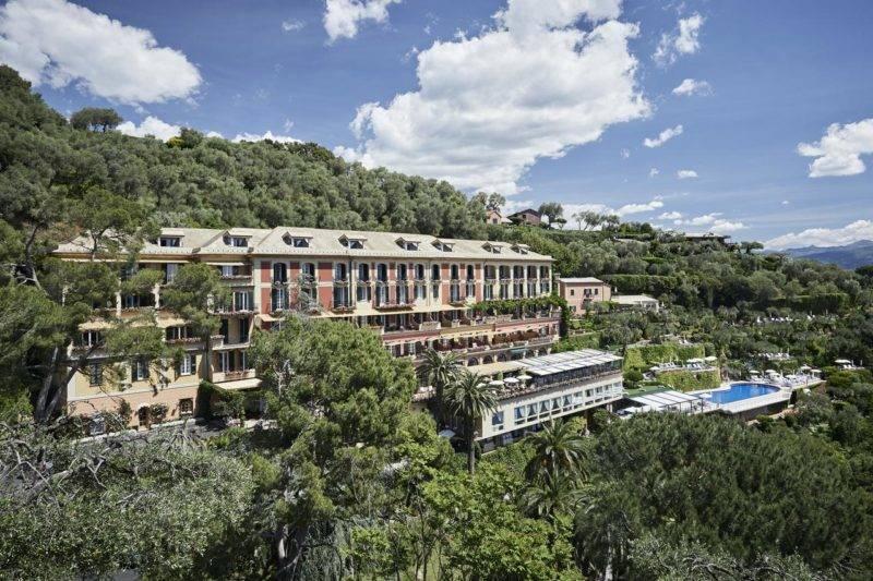 Onde fica em Portofino: Estrutura do Belmond Hotel Splendido.