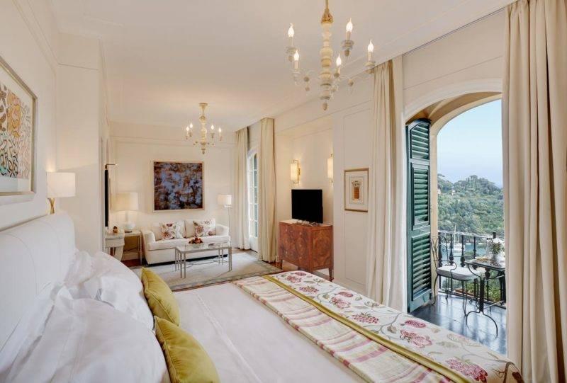 Melhores hotéis de Portofino: Quarto do Belmond Hotel Splendido.