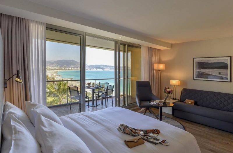 Hotéis em Nice: Quarto do Radisson Blu Hotel.