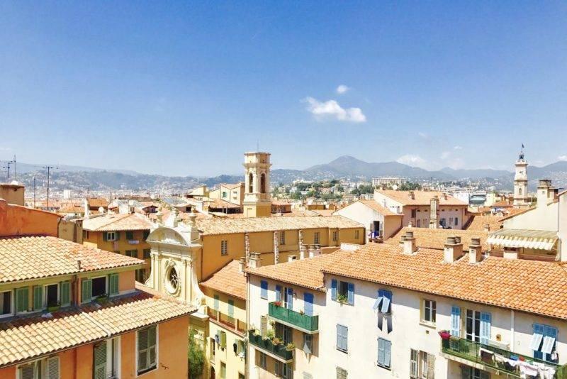 Dicas Nice: vista da Vieille Ville.
