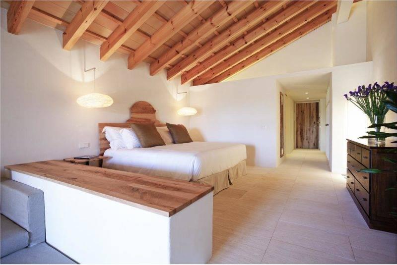 Hotéis em Menorca: quarto do Torralbenc.