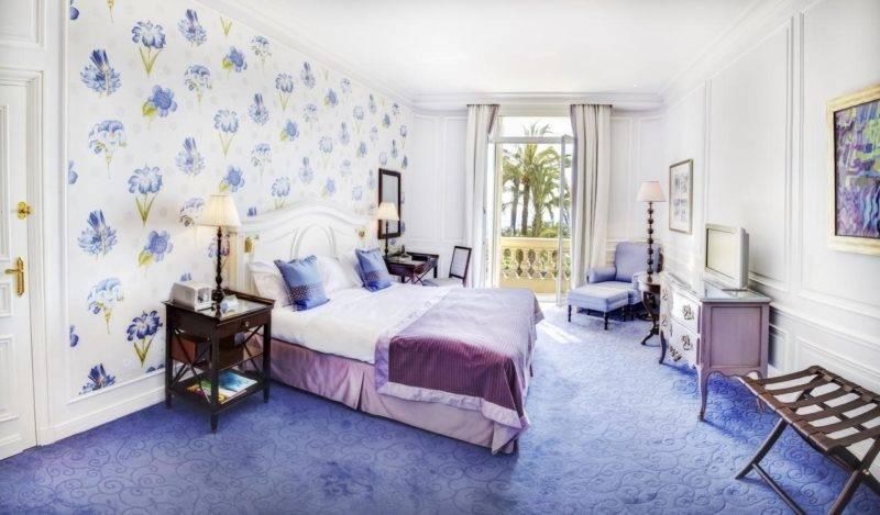 Hotéis em Mônaco: Quarto do Hôtel Hermitage Monte-Carlo.