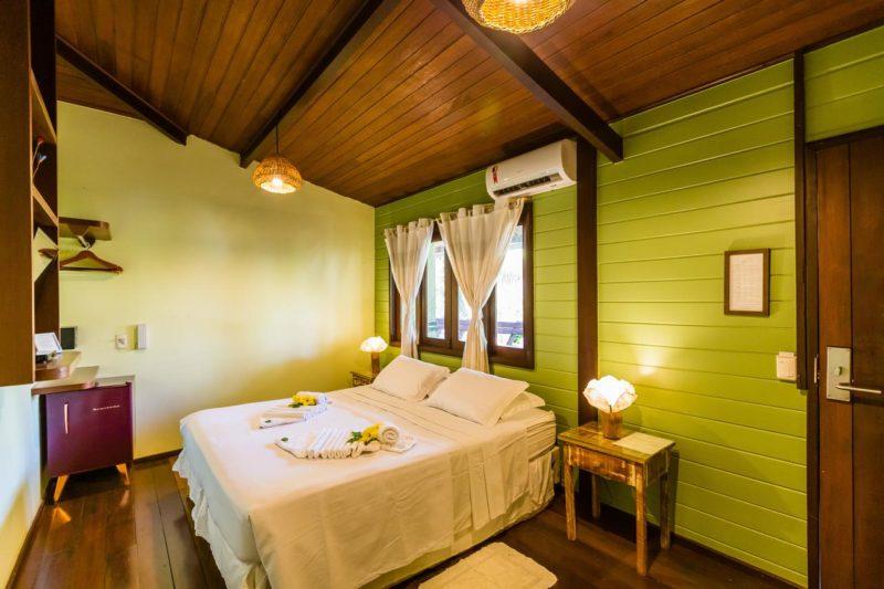 Onde ficar em Noronha: Naiepe tem quartos grandes, limpos e confortáveis.