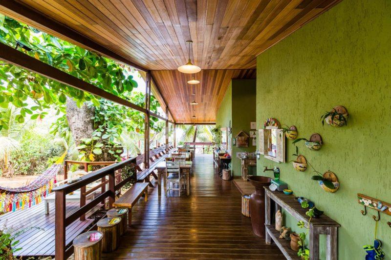 Hotéis em Fernando de Noronha: o clima praiano da Pousada Naiepe.
