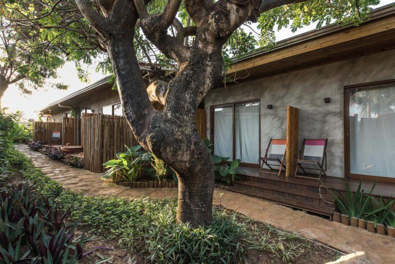 Pousada Fernando de Noronha: o jardim da Pousada Salga é charmoso e muito exuberante.