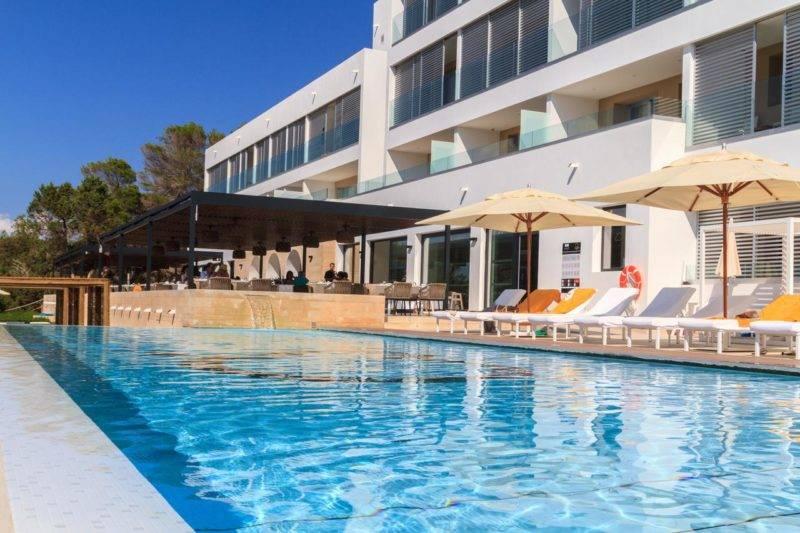 Onde se hospedar em Formentera: estrutura do Hotel Cala Saona & Spa.