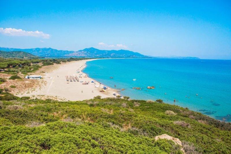 Dicas Sardenha: a linda Spiaggia Feraxi.