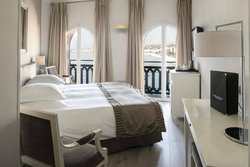 Melhores hotéis de Nice: A vista do quarto do Hotel Suisse.