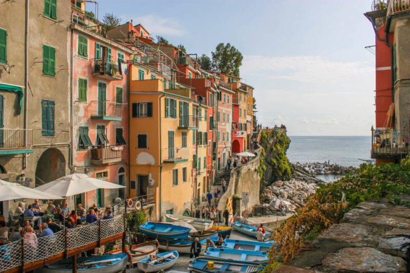Riomaggiore: um vilarejo com ares de vila de pescador italiana