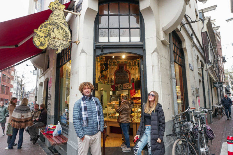 A Bakery do Hans: melhor Stroopwaffle de Amsterdã