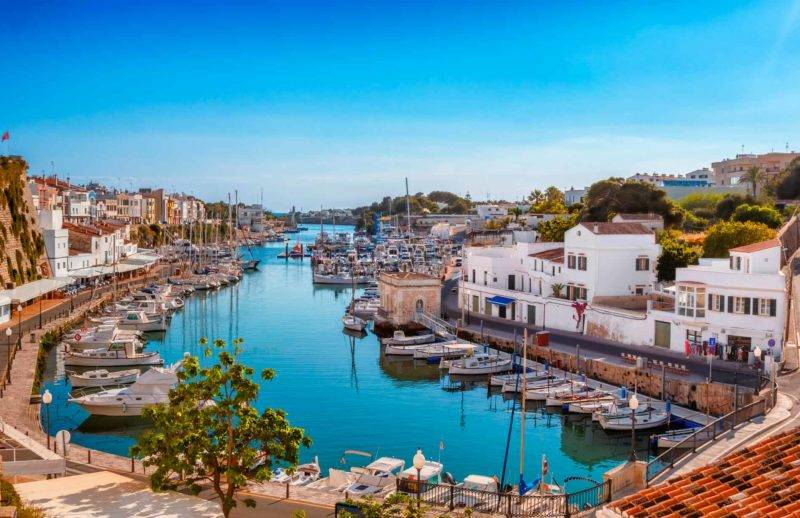 Ilhas Baleares: Menorca.