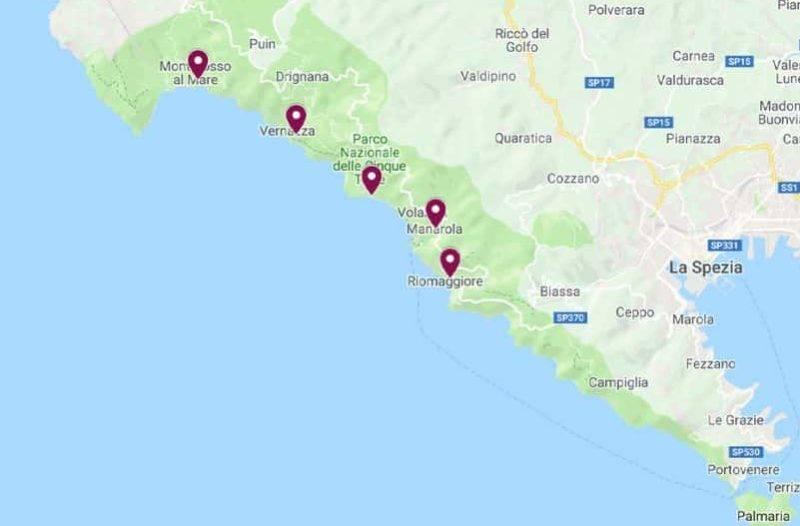 Roteiro Itália: Parque Nacional Cinque Terre.