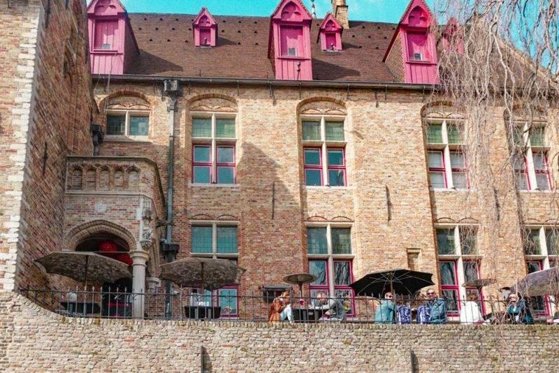 Dicas de Bruges: O 2 Beer Wall
