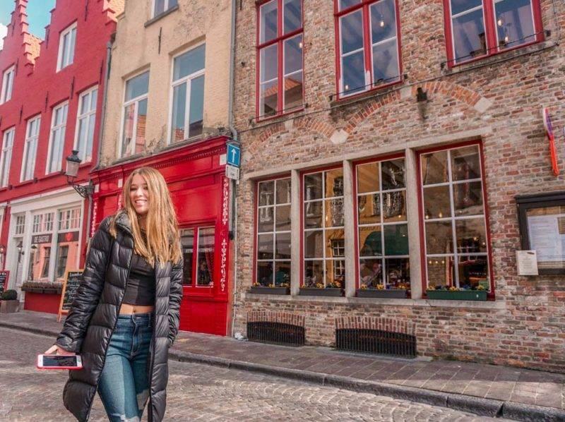 Ruas mais lindas de Bruges
