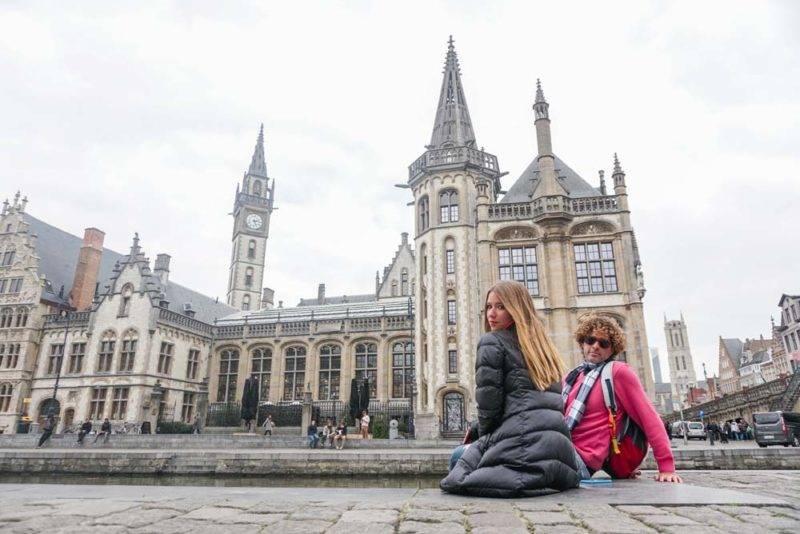 Ghent: mais imponente que Bruges, mas menos aconchegante