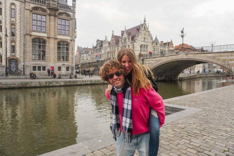 Ghent: cidade linda, mas ainda prefiro ter Bruges como base