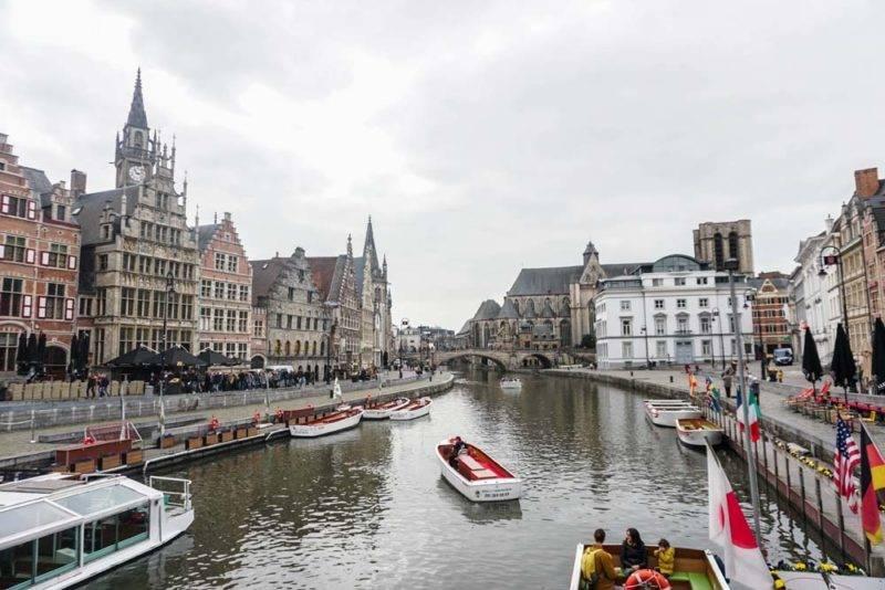 Parte central de Ghent