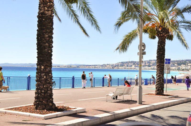 Nice dicas: a charmosa Promenade des Anglais.