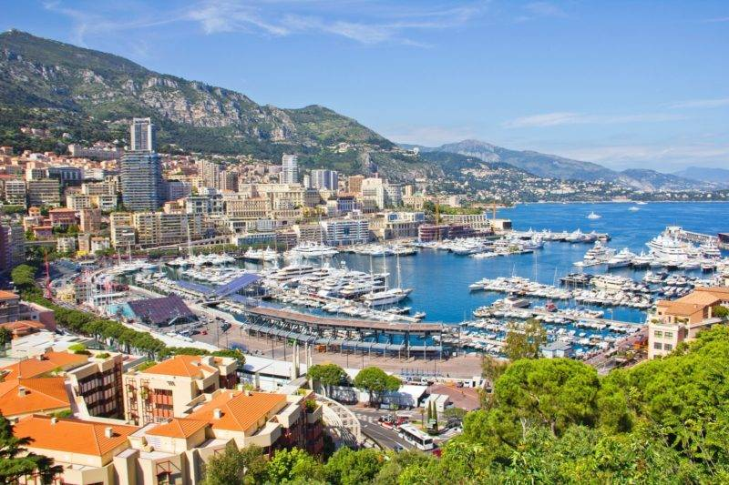 O que fazer em Mônaco: região de Monte Carlo.