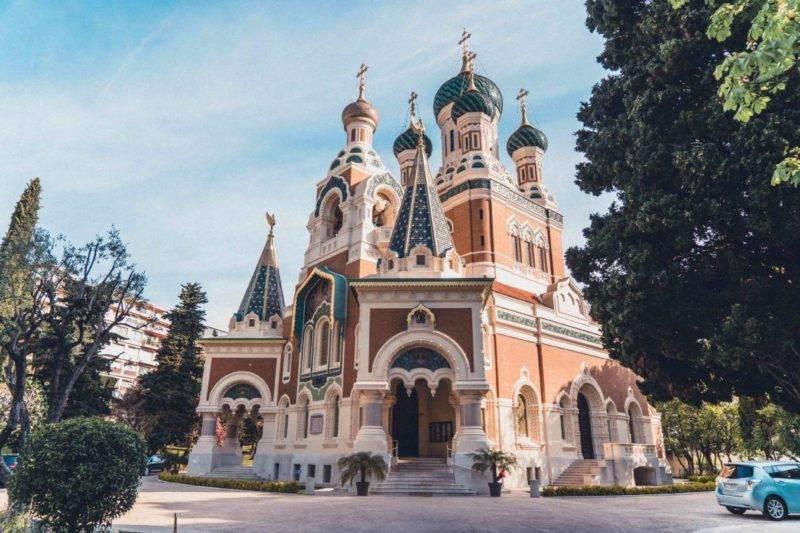 Roteiro sul da França: Catedral de Nice, a principal construção religiosa da cidade.